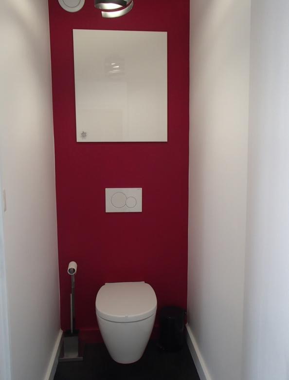 le toilette de l'appartement