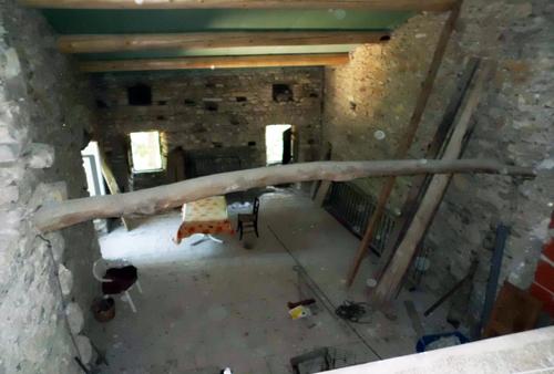 Le mas avant travaux de rénovation