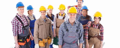 Plusieurs artisans sur mon chantier pour la réception des travaux