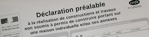 Déclaration préalable de travaux dans le Gard
