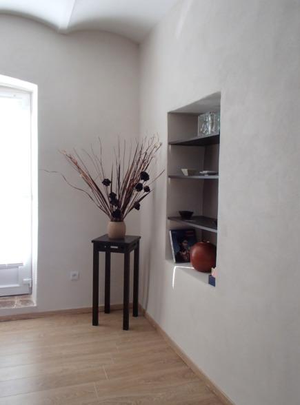 Les murs à la chaux, un décor simple et valorisant.