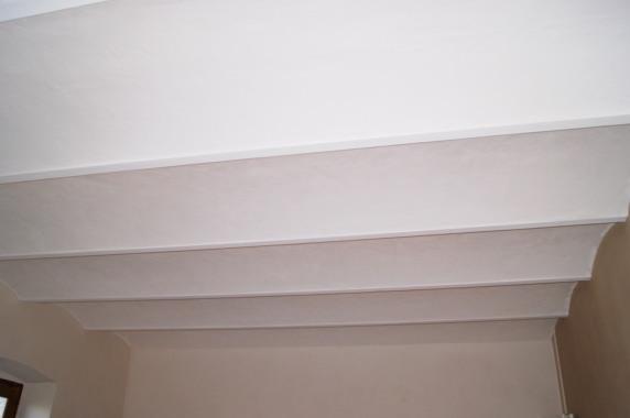Plafond en voutins traditionnels